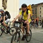 Brnem projely stovky cyklistů. Nechyběl ani MESSENGER