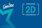 2x poukázka STANDARD v síti CineStar a Cinemax